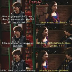 Is Riley jealous?<<Of course she is! Boy Meets Girl, Girl Meets World, Old Disney, Disney Love, Riley And Farkle, Farkle Minkus, Corey Fogelmanis, Cory And Topanga, World Quotes
