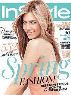 Jennifer Aniston.  She's just amazing to me.  She has a great attitude and doesn't age!