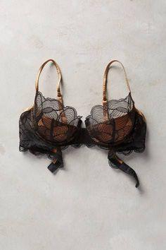 Iris Padded Underwire Bra by La Perla #Anthroregistry