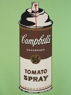 Mr. Brainwash: Tomato Spray