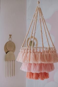 Pink Bedroom For Girls, Pink Room, Little Girl Rooms, Girl Bedroom Walls, Bedroom Decor, Mermaid Bedroom, Room Themes, Girl Nursery, Tora