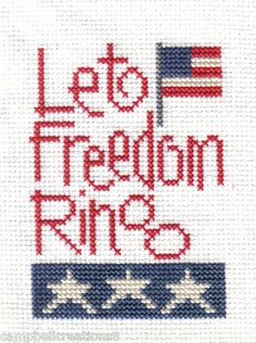 Campbell Creations: Lizzie Kate Let Freedom Ring