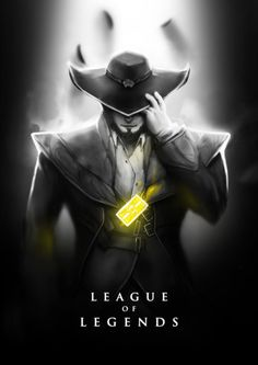 League of Legends featuring Twisted Fate.