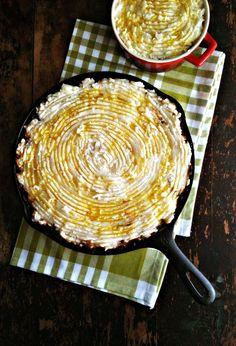 Lentil & Kale Shepherd's Pie with Roasted Garlic Potatoes More