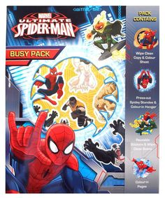 Spiderman Busy Pack