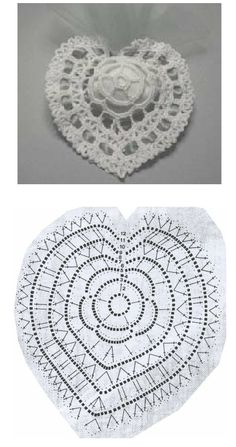 Patrones Crochet Corazones San Valentin - Patrones Crochet