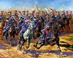 1st Regiment of Polish Lancers which served as Napoleon's Imperial Guard