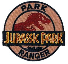 Jurassic Park ranger badge - I would so wear this... ;}