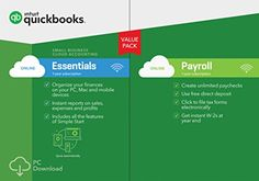 QuickBooks Online Essentials 2017 with Payroll Small Business Accounting [PC Download]