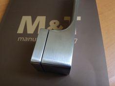 Klamka Minimal chrom szczotkowany. Klamka M&T. doorhandles Minimal chrome grinded