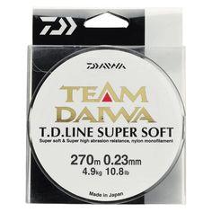 Nylon Team Daiwa Line Super Soft - Peche au poisson nageur