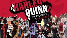 We look at the evolution of one of the most beloved comics characters - Harley Quinn,