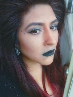 Lábios negros Makeup...