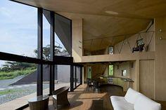 Villa Escargot , Prefettura di Chiba, 2014 - Takeshi Hirobe Architects #architecture