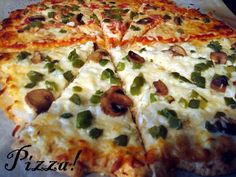 Mama Loves Food!: Bisquick Pizza Dough Recipe