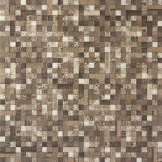 Cerâmica PortoBello - imagem MOS AMAZON CACAO 60X60 NAT RET - Linha: Max Mosaics - Porcelanato Esmaltado - Mosaico - Código de Referência: 22270E Cor: Bege