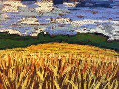 EBAY NEW LISTING! ORIGINAL 9X12 SOFT PASTEL BY TIM BRUNEAU!! BIDS START AT ONE PENNY!!  Artist Landscape Pastels Original Tim Bruneau Impressionism Signed #Impressionism