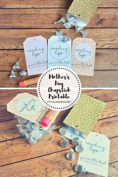 Adorable Mother's Day Chapstick Tag. Perfect gift for Mother's Day!