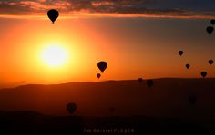 Viorel Plesca: THE MORNINGwith baloons in Cappadocia