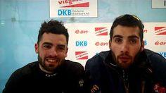 martin et simon fourcade 2012 nove mesto podium - YouTube