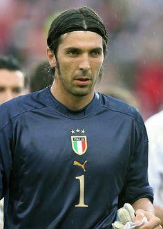 "Gianluigi ""Gigi"" Buffon, is an Italian goalkeeper who plays for and captains… World Football, Soccer World, Arsenal Football, Football Jerseys, Good Soccer Players, Football Players, Turin, Italy Soccer, International Soccer"