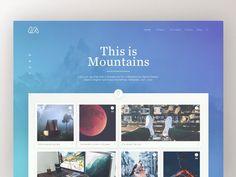 Mountains Website