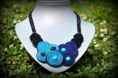 jasika / Colours of Jasika necklace #black #blue