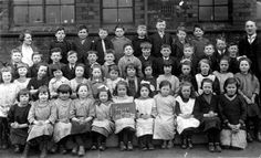 Godley School, Hyde, Cheshire, 1924 Time In England, Group Photos, Hyde, School Days, Vintage Children, Old Photos, Education, History, Antique Photos