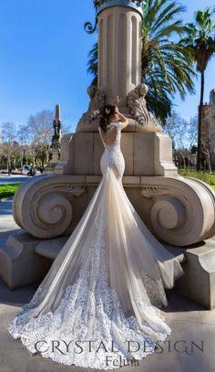 Свадебное платье Crystal Design Felina