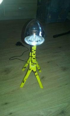 Een giraf lamp