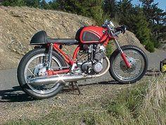 Honda CB77 Super Hawk Motorcycle - Builder Unknown