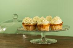 Sitruuna-valkosuklaa cupcaket