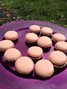 Macarons framboise Mamitou