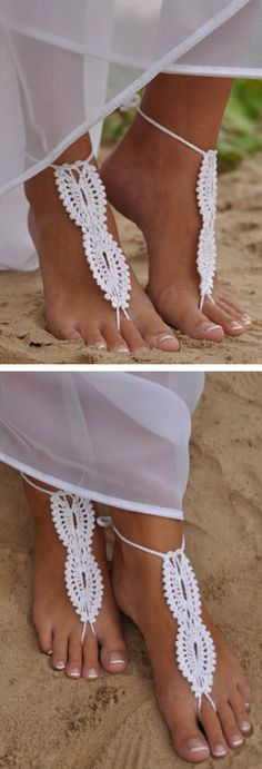 Barefoot Sandals ❤︎ L.O.V.E. #summer #beach #inspiration