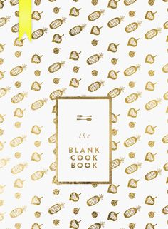 DOWNLOADABLES: THE BLANK COOKBOOK - Cocorrina