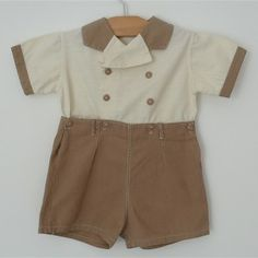 little boy 1930's outfit