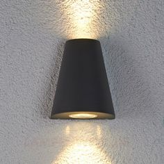 Doppelt strahlende LED-Außenleuchte Aleyna 9618021