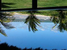 Vista do apartamento do Resort em Serrambi