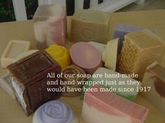 Natural Handcrafted Soap –Essential Oils   Handcrafted Soap