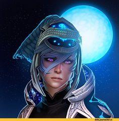 Dota 2,фэндомы,Dota 2 Art,Luna,Moon Rider,удалённое