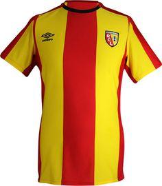 RC Lens Home 2015-16 #umbro #chtis Football Shirts, Sports Shirts, Rc Lens, Sang, Soccer, Kit, Club, Tops, Fashion