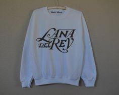 Lana Del Rey white sweatshirt for women T-shirts