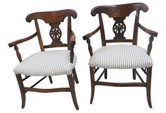 19th-C. French Country Chairs, Pair on OneKingsLane.com