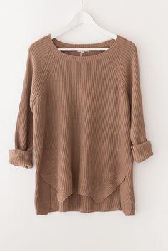 Blush Chunky Knit Sweater - Love Street Apparel