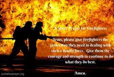 Prayers for Police Officers, Military, Paramedics, and Firefighters Prayer For Guidance, Prayer For Protection, Faith Prayer, Power Of Prayer, Short Prayers, 1st Responders, Everyday Prayers, Easy Jobs, Pray For Us