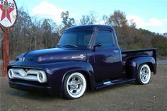 1954 Ford F100 pick up that has endured a nearly ten year restoration into one of the hottest looking trucks on the road. It has a complete restoration histo...