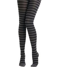 Tabbisocks I Really Mean Knit Tights ($22) via Polyvore featuring intimates, hosiery, tights, tights & leggings, black, grey, sheer stockings, sheer black tights, black tights and knit stockings