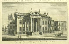 A Perspective View of the Clarendon Printing House, the Theatre, the Museum, the Publick Schools .