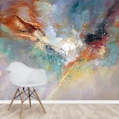 Stunning Celestial wall mural by Anne Farrall Doyle at Wallsauce. This high quality celestial wallpaper is custom made to your dimensions. FREE UK delivery within 2 to 4 working days. Spring Wallpaper, Photo Wallpaper, Wall Wallpaper, Wallpaper Companies, Inspirational Wallpapers, Blue Wallpapers, Blue Walls, Wall Murals, Art Walls