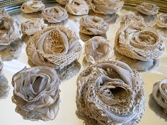 35 Handmade Flowers for weddings bouquet making by PapernLace